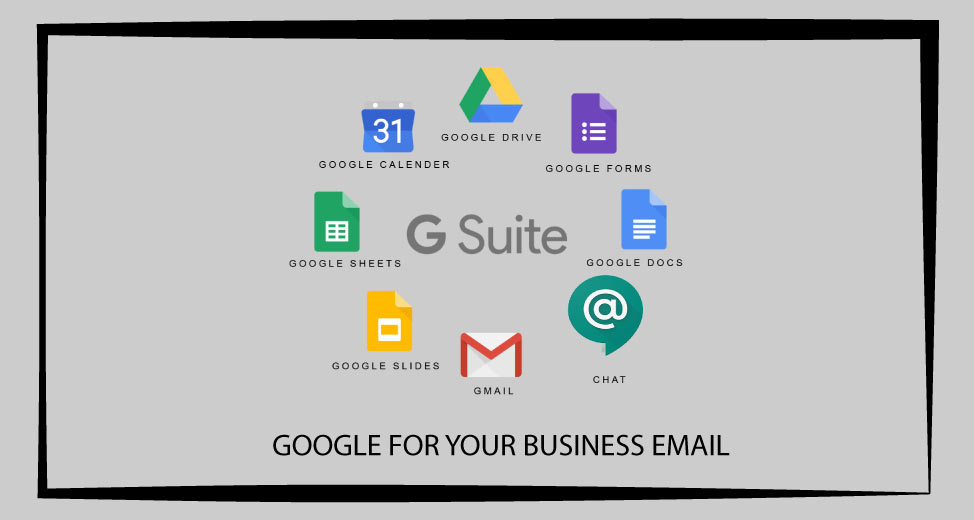 gsuit business email services in lahore